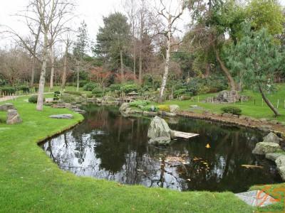 Holland park, сад Киото