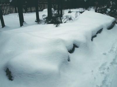 Укрытие на зиму с использованием щитов