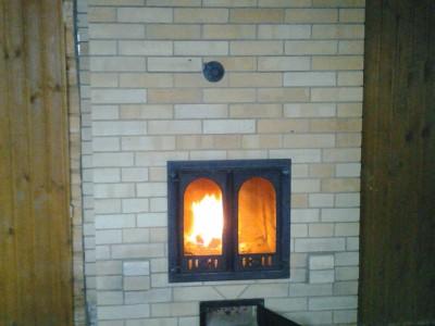 Печь-камин для облицовки плиткой
