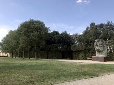 Скульптуры в саду Боболи