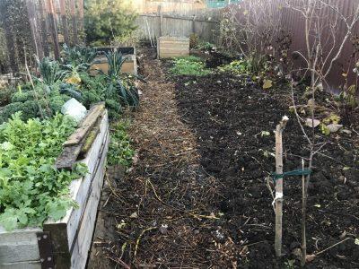 Внесение компоста