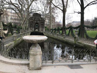 Фонтан Марии Медичи в Люксембурском саду