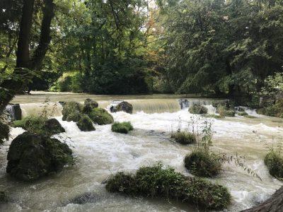 Английский парк Мюнхена