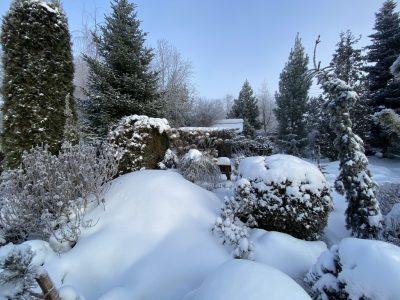 Подсыпать снег